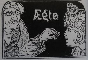 Varemærke registrerings tegningen fra 1902.